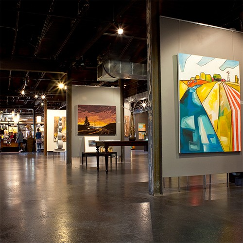 LaFontsee Gallery Interior Grand Rapids