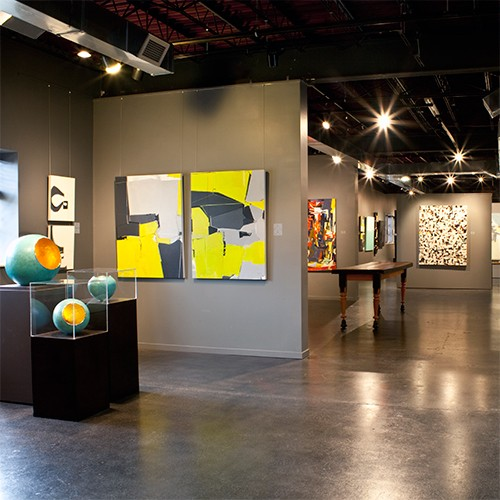 LaFontsee Gallery Grand Rapids Interior