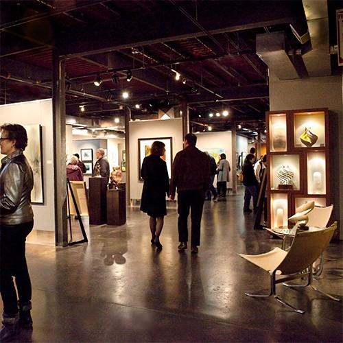 Lafontsee Gallery Interior